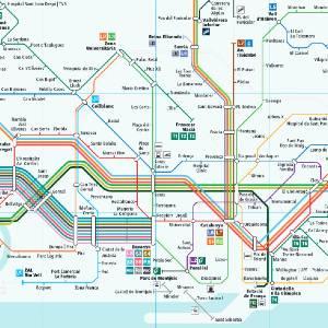 Plano De Ferrocarriles De Cataluna Fgc 2020