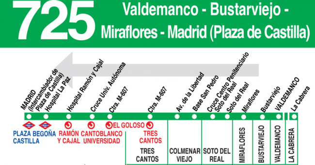 horario autobuses colmenar viejo: