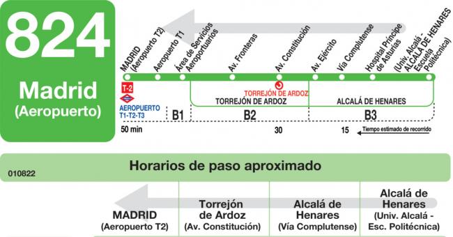horarios de autobus aeropuerto: