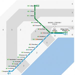 Plano De Renfe Cercanias Malaga 2020