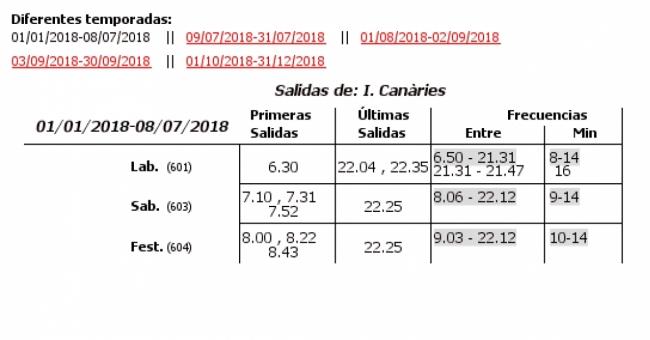 L nea 35 autobuses emt de valencia for Horario oficina de correos valencia