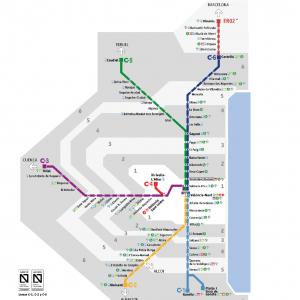 Plano De Renfe Cercanias Valencia 2020